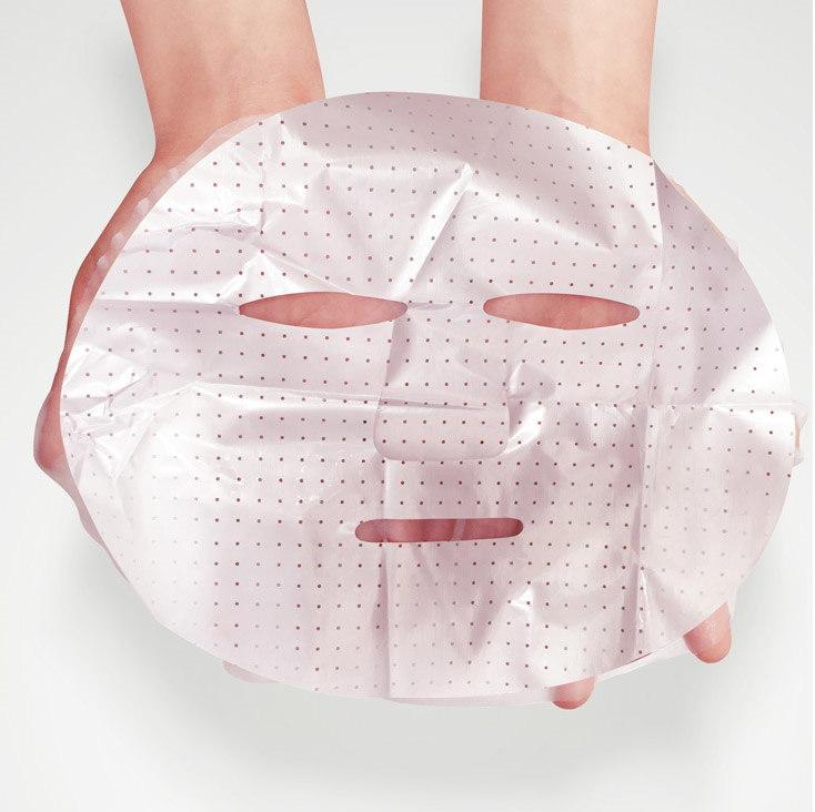 Увлажняющая маска для лица с черникой