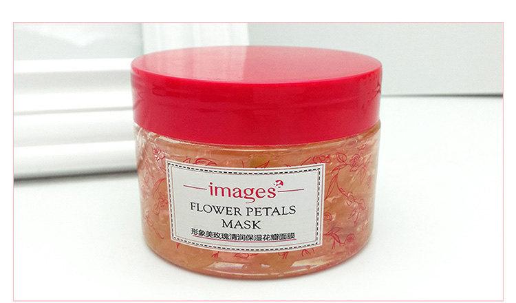 Маска-гель для лица с лепестками розы Images