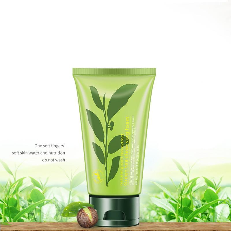 Пенка для умывания с зеленым чаем Rorec: teomart.ru - фото 2