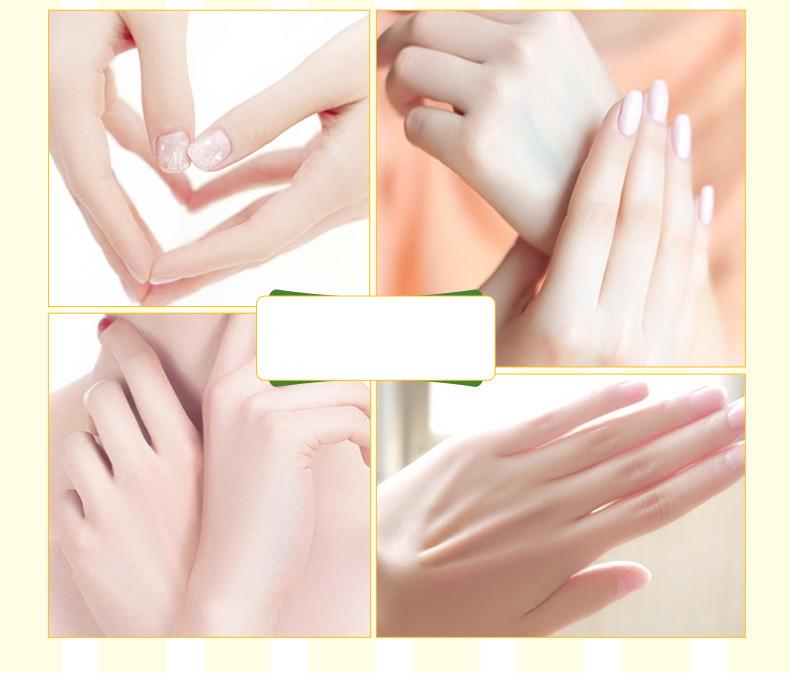 Крем для рук персик Bioaqua-4