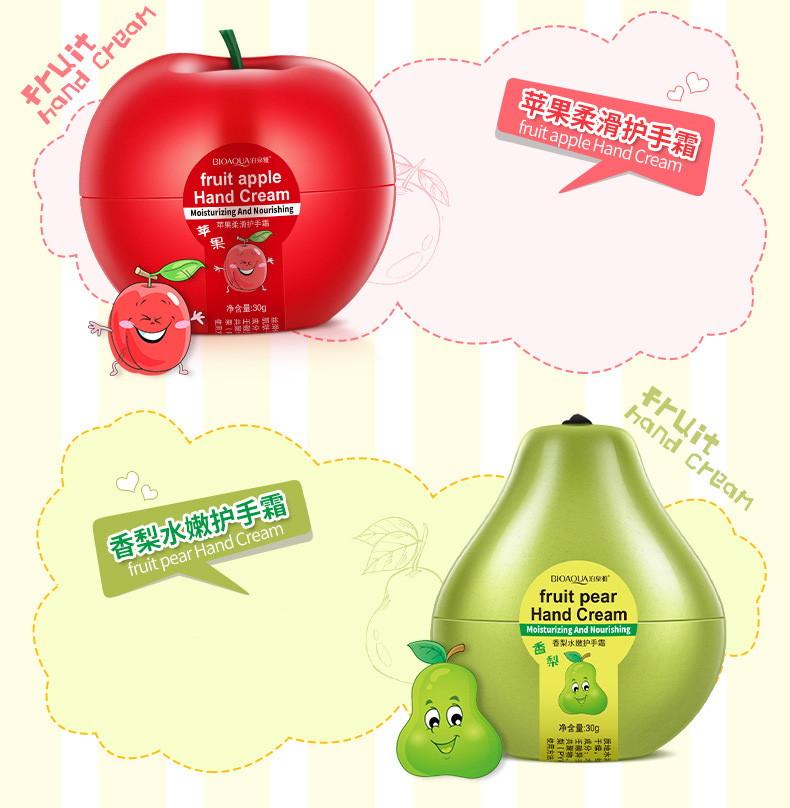 Крем для рук фрукты Bioaqua-4
