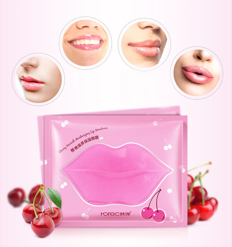 Маска для губ гидрогелевая Rorec: teomart.ru - фото 2