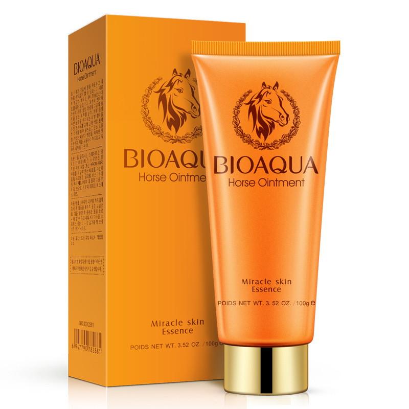 Пенка для умывания с лошадиным жиром Bioaqua-2