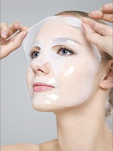 Маска для лица гидрогелевая белая: teomart.ru - фото 2