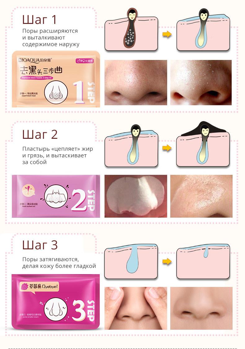 Маска для носа от черных точек Pig Nose